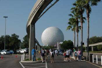 16.1:350:233:0:0:EPCOT from park lot:right:1:1::0: