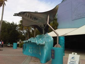 14.9:350:263:0:0:フロリダ水族館:right:1:1:フロリダ水族館 エントランスのオブジェ:0: